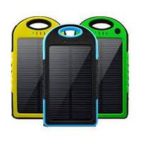 Внешний аккумулятор Solar Power Bank 5000mAh