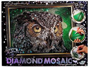 Алмазная живопись Dankotoys Diamond mosaic Сова DM-02-01 (40898)