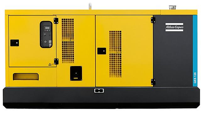 Дизельная электростанция (Генератор) Atlas Copco QES 125