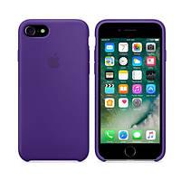 Чохол для iPhone 7/8 Silicone Case (Найкраща копія Apple) - фіолетовий