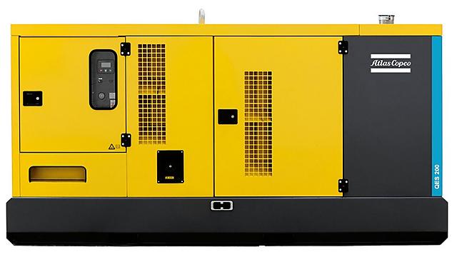 Дизельная электростанция (Генератор) Atlas Copco QES 200