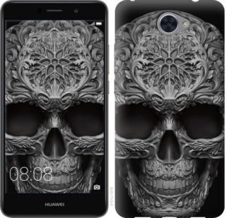 "Чехол на Y7 2017 skull-ornament ""4101c-1019-328"""