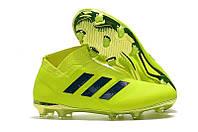 Бутсы adidas Nemeziz 18+ FG light\green