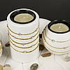 Подсвечник для нескольких свечей с подставкой в виде опавшего листка GHS189, фото 3