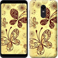 "Чехол на Redmi 5 Plus Красивые бабочки ""4170c-1347-328"""