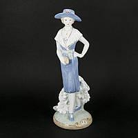Фарфоровая фигурка женщины с сумочкой S0350