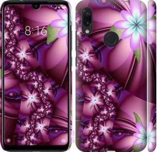 """Чехол на Redmi Note 7 Цветочная мозаика """"1961c-1639-328"""""""