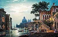 """Набор алмазной вышивки (мозаики) """"Вечерняя Венеция-2"""""""