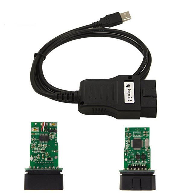 Адаптер диагностический VAG K+CAN Commander 3.6 Obd2 Vag Автомобильный диагностический кабель для Audi /VW