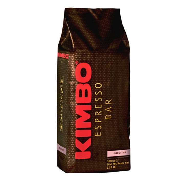 Кофе в зернах KIMBO Espresso Bar Prestige 100%, 1кг. Италия