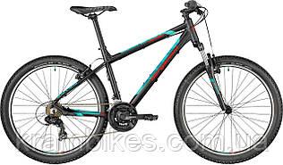 """Велосипед Bergamont - Revox 26 (2018) (26""""-48см) Чёрный/Синий/Красный"""