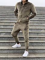 e86c7536 Мужской спортивный костюм цвета хаки | Чоловічій спортивний костюм кольору  хакі (репліка)