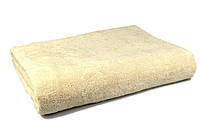 Простынь махровая, 150x200, цвет: кремовый