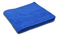 Простынь махровая, 150x200, цвет: темно-синий