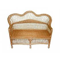 """Плетеный диван из лозы """"Комфорт"""""""