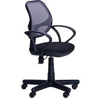 Кресло офисное AMF Чат черное