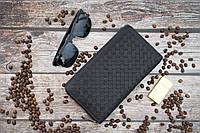 Кожаный клатч Bottega Veneta / Мужской клатч из натуральной кожи
