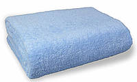 Простынь махровая, 180x200, цвет: голубой