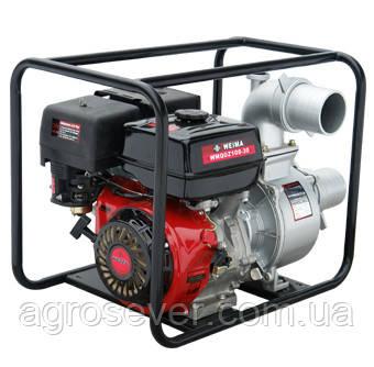 Мотопомпа бензинова WEIMA WMQGZ100-30 для чистої води 16 к. с