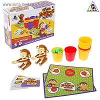 Настільна гра на влучність Two monkeys