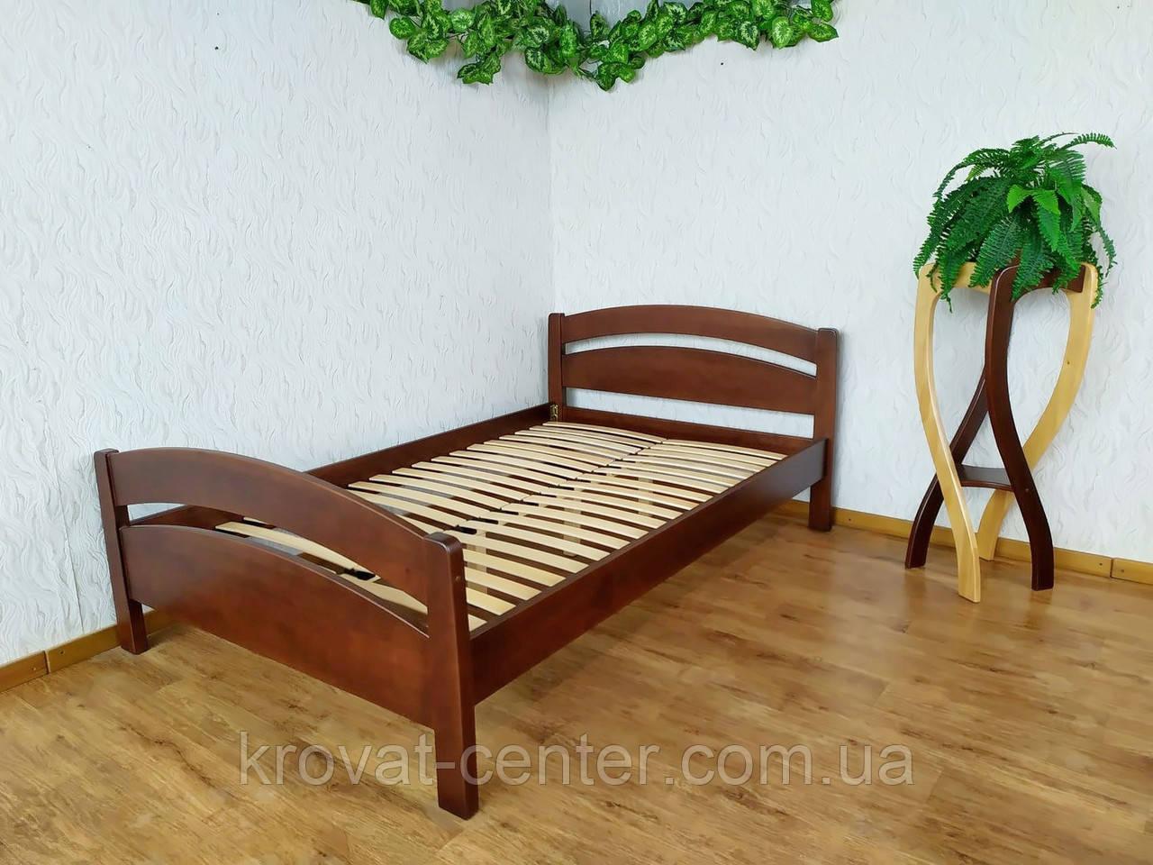 """Деревянная полуторная кровать с изножьем """"Марта"""" от производителя"""