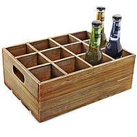 """Ящик для переноски напитков """"Этна"""" капучино"""