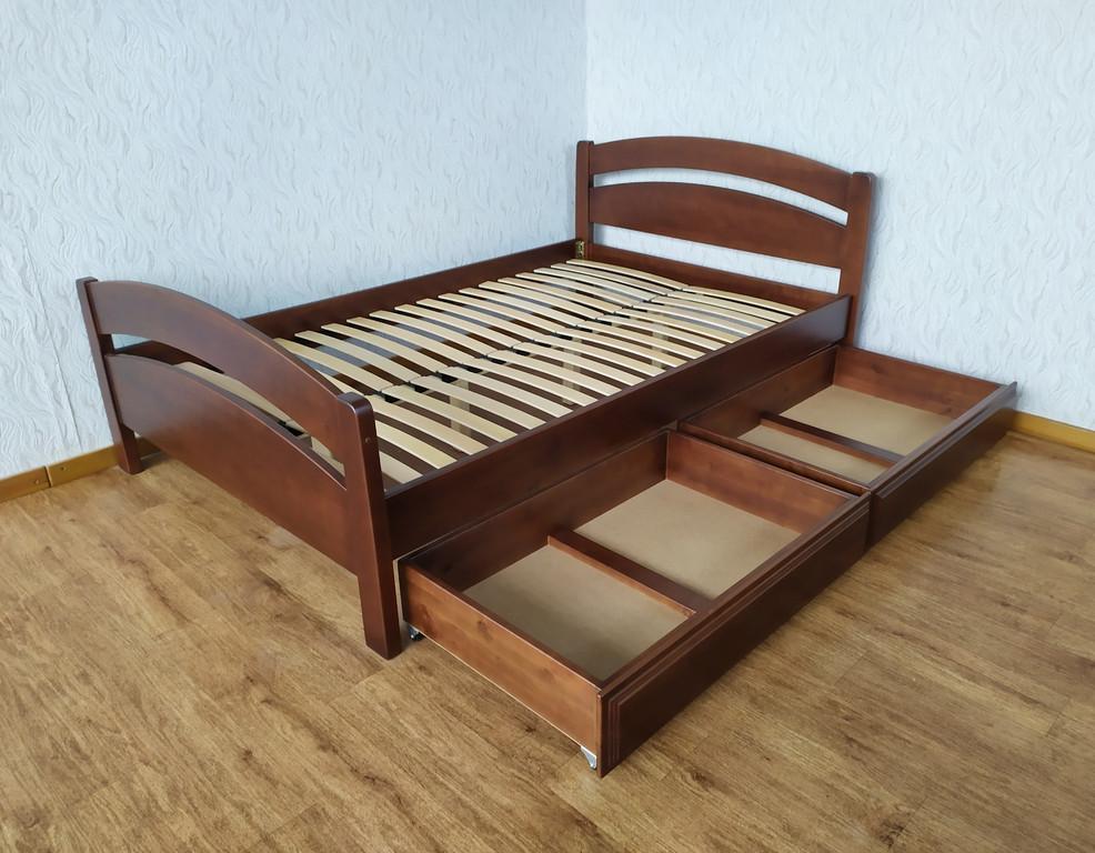 """Полуторная кровать """"Марта"""" с ящиками"""