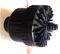 Косильная головка на электротриммер D8мм