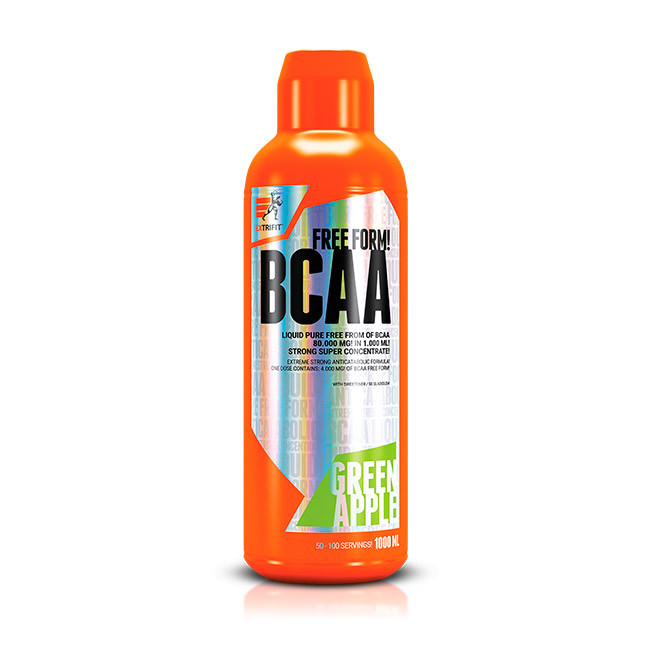 Аминокислота BCAA 80000 Liquid + Water Bottle 750 ml (1 l) EXTRIFIT