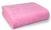 Простынь махровая, 180x200, цвет: розовый