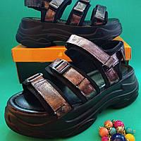 Сандалии  спортивные на липучках, фото 1