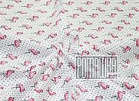 Детская муслиновая пелёнка 90*80 лёгкая тонкая из муслина для новорожденных малышей в роддом 4061 Розовый 2, фото 1