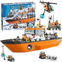 Конструктор Bela 10443 City Сити Арктический ледокол (аналог Lego City 60062), 760 дет