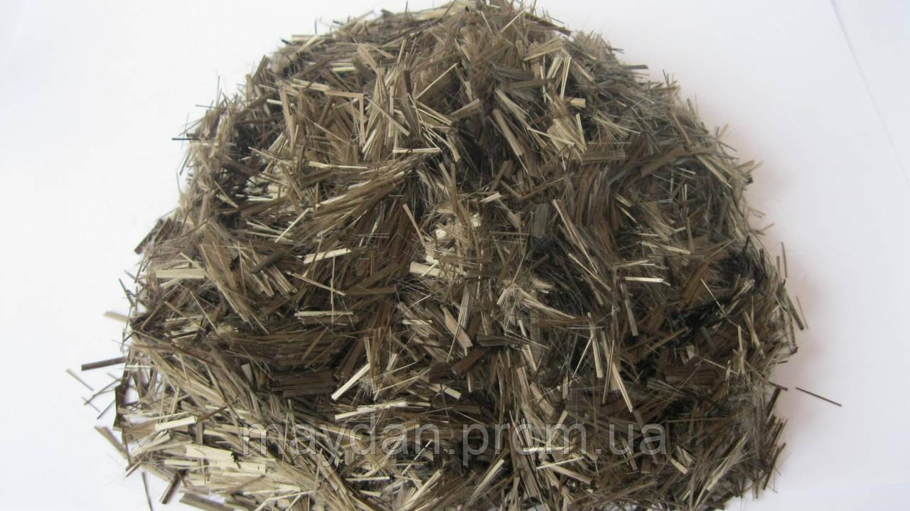 Минеральное армирующее волокно фибра волокно мешок 20 кг.