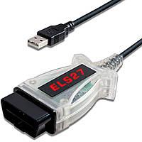Автосканер ELS27 USB FORSCAN FTDI + программы елс27 форскан фордскан elm obd2 сканер
