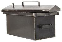Коптильня средняя металл 2мм. 460х260х260 , крышка домиком