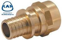 """KAN-therm соединитель Push с манжетой 32х4,4 мм, 1"""" внутренняя резьба 9019.040"""