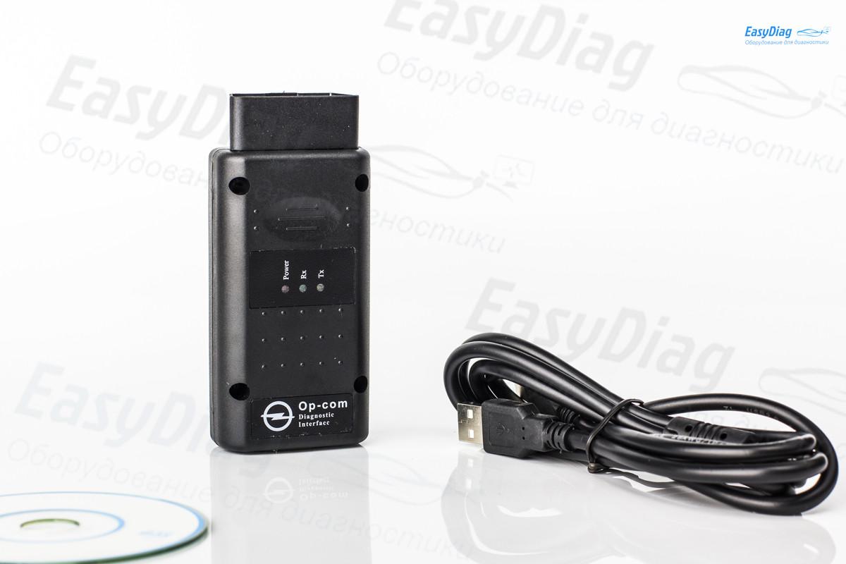 Op - com 1.7 для Opel Vauxhall Автосканер для опель оп ком