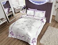 TAC Евро комплект постельного белья сатин Natalie lila