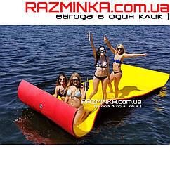 Плавающий коврик для отдыха на воде 140х400см, толщина 30мм.