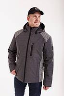 Куртки мужские весна осень от производителя  48-58 темно-серый