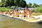 Плавающий коврик для отдыха на воде 140х400см, толщина 30мм., фото 4