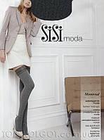 Чулки меланжевые с хлопком SISI Montreal 120