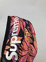 Сумка на пояс Бананка Supreme - Тропики розово-оранжевый
