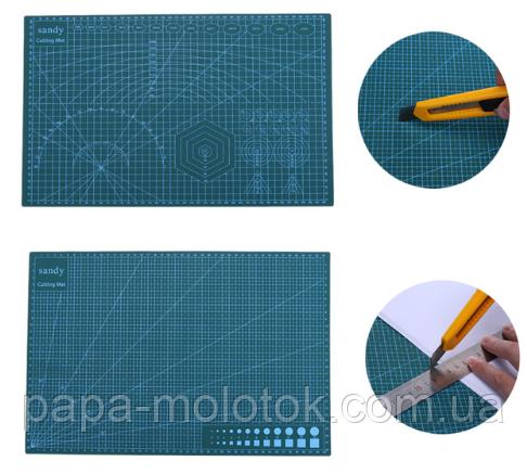 Двусторонний коврик для пэчворка А3