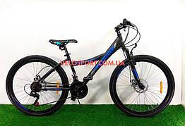 Подростковый велосипед Azimut Navigator 24 GD черный