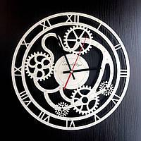 Настенные деревянные часы Shasheltoys  Диаметр 35 см (090106)