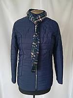 Весна женские Куртки  большого размера    50-58  синий