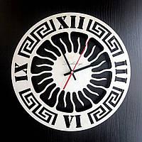 Настенные деревянные часы Shasheltoys  Диаметр 35 см (090105)
