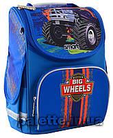 """Рюкзак школьный, каркасный PG-11 """"Big Wheels"""""""
